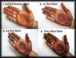Henna Tymczasowy Tatuaż Henna Temporary Tattoo